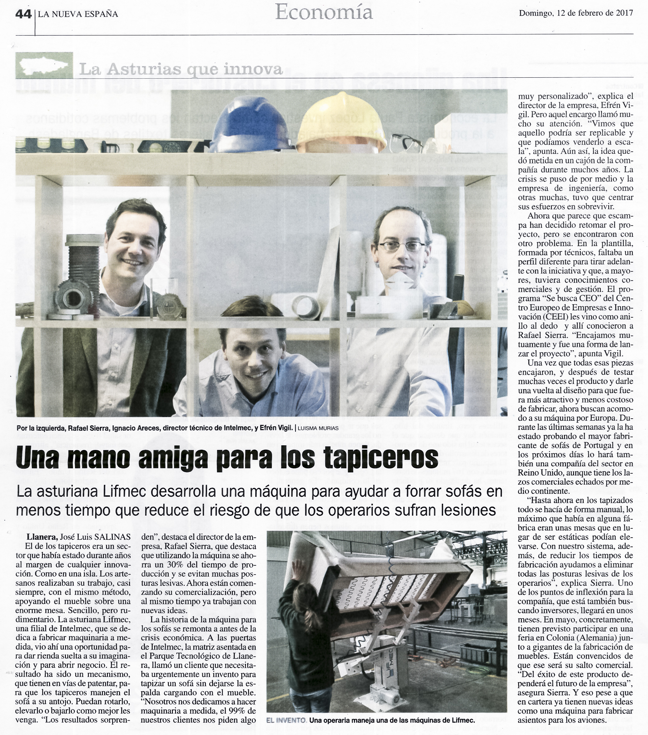 press article LNE